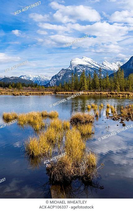 Mount Rundle, Vermilion Lakes, Banff National Park, Alberta, Canada