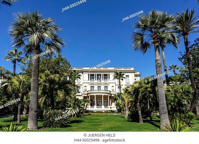 Museum Villa Massena, Nice, Alpes Maritimes, Provence, French Riviera, Mediterranean, France, Europe