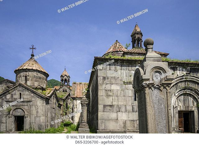 Armenia, Debed Canyon, Haghpat, Haghpat Monastery, 10th century, Church of the Holy Cross, exterior