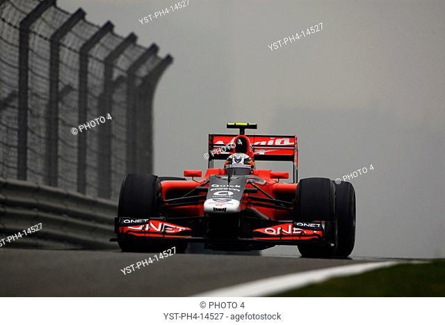 Jerome D'Ambrosio BEL, Chinese Grand Prix, Shangai, China