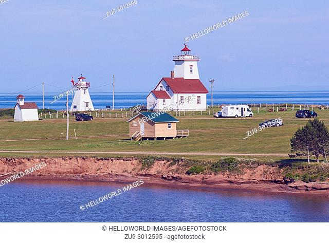 Wood Islands Lighthouse (1876), Wood Islands, Prince Edward Island (PEI), Canada. Historic lighthouse situated on the southeastern shore of Price Edward Island