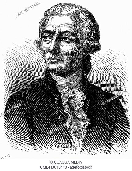 Antoine Laurent de Lavoisier (August 26, 1743 - Mai 8, 1794), French chemist