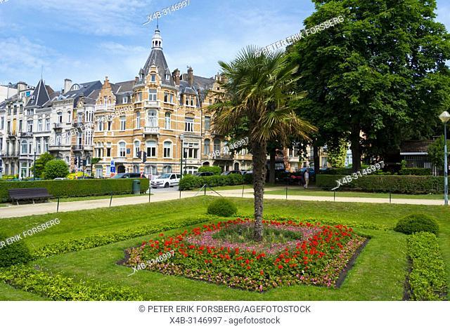 Ambiorix Square, Quartier des Squares, Brussels, Belgium