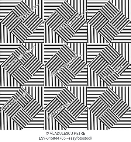 pattern from black lines
