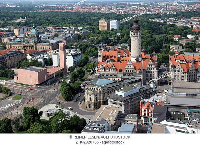 Leipzig Katholische Propstei St. Trinitatis Neues Rathaus New Town hall