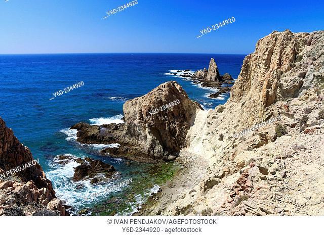 Reef of the Mermaids, Cabo de Gata-Nijar Natural Park, Almeria, Andalusia, Spain