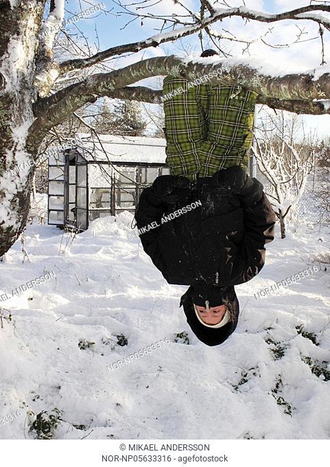 Girl ten years old, Sweden