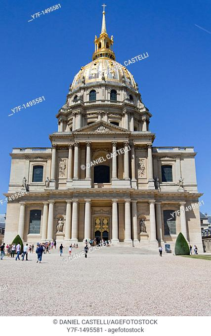 Les Invalides, Army Museum, Paris, France