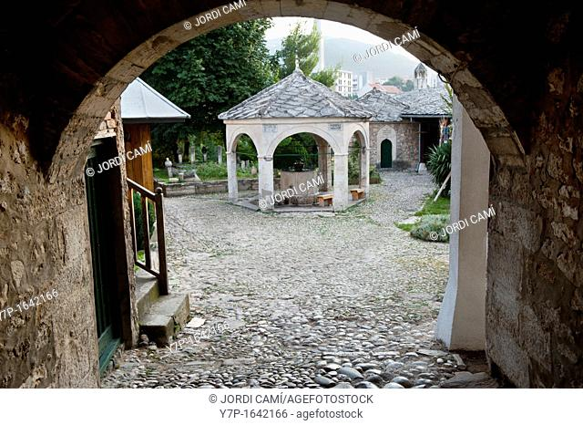 Koski Mehemed - Pasina Dzamija Mosque 1617  Mostar Bosnia- Herzegovina  Balkans  Europe