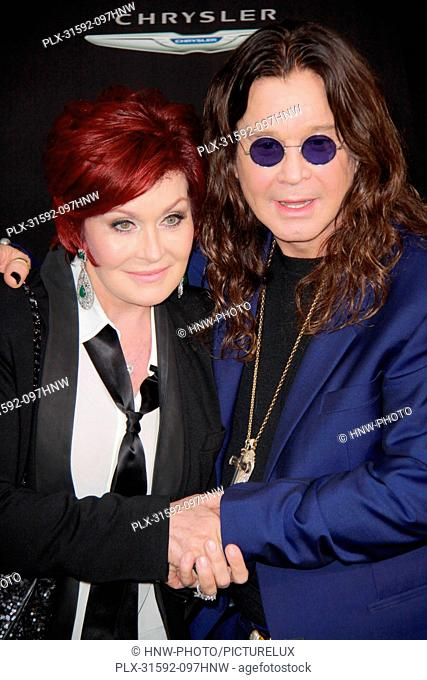 Sharon Osbourne, Ozzy Osbourne 08/01/2012 Total Recall Premiere held at Grauman's Chinese Theatre in Hollywood, CA Photo by Izumi Hasegawa / HollywoodNewsWire