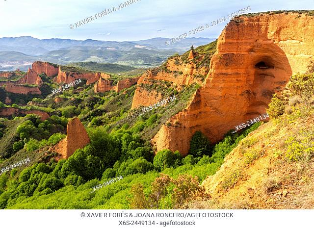 Natural park of Las Medulas, Leon, Spain
