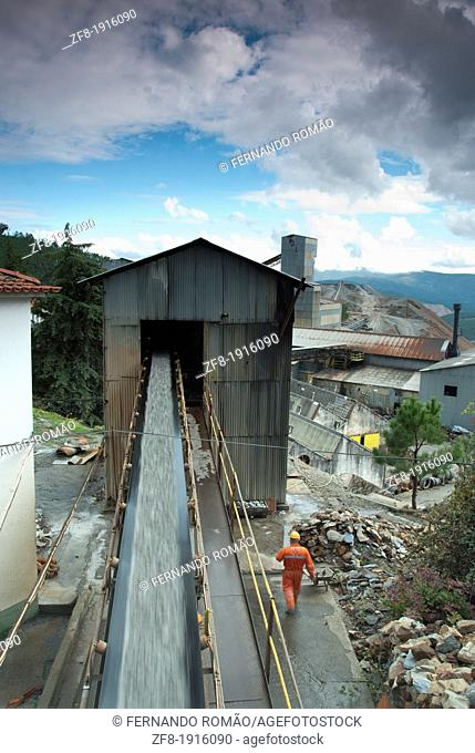 Mining complex at Fundão, Portugal