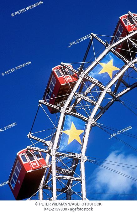 Riesenrad, Giant Ferris Wheel, Austria, Vienna