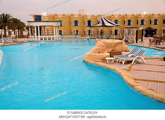 Qatar - Al Khor - Al Sultan Beach Resort - The swimming pool