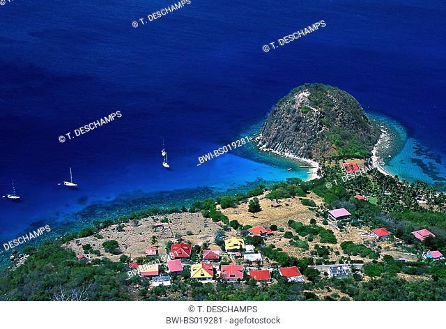 Le Pain de Sucre, France, Guadeloupe, Les Saintes Islands