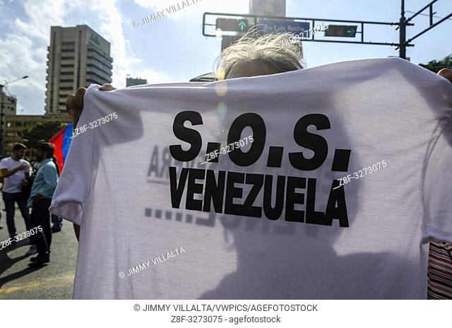Thousands of citizens took to the streets to protest against the Mega blackout affecting Venezuela