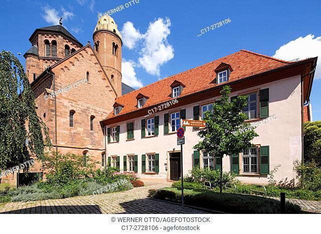 D-Worms, Rhine, Upper Rhine, Rhenish Hesse, Rhine-Neckar area, Rhine-Main district, Rhineland-Palatinate, St Paulus Church and Dominican monastery