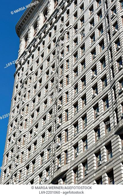 Flatiron Building (1902), Midtown Manhattan, New York, USA