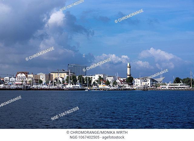Warnemuende, Hanseatic City Rostock, Baltic Sea, Mecklenburg-Vorpommern, Germany, Europe