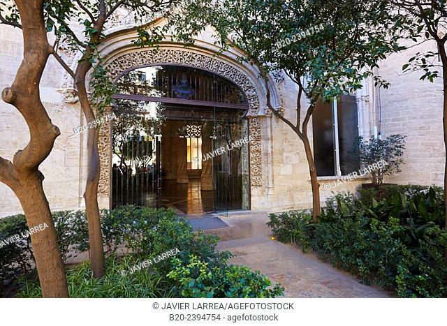 La Lonja de la Seda (Silk Exchange). Valencia. Comunidad Valenciana. Spain