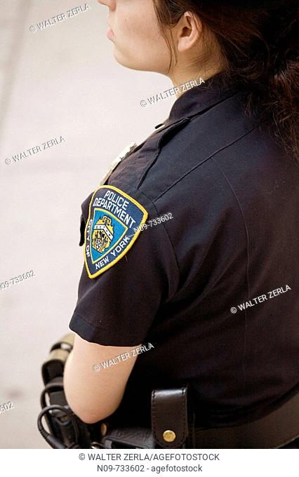 Policewoman, New York City, USA
