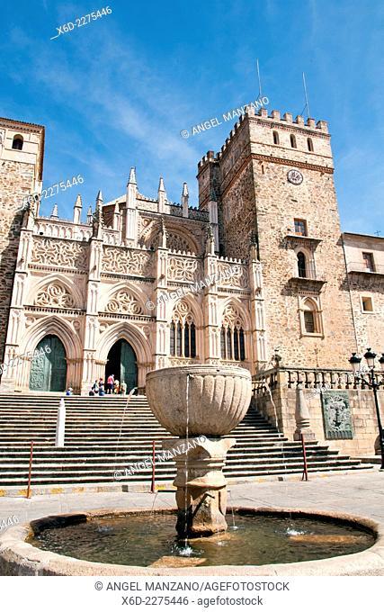 Nuestra señora de Guadalupe monastery UNESCO world heritage site, Guadalupe, Caceres