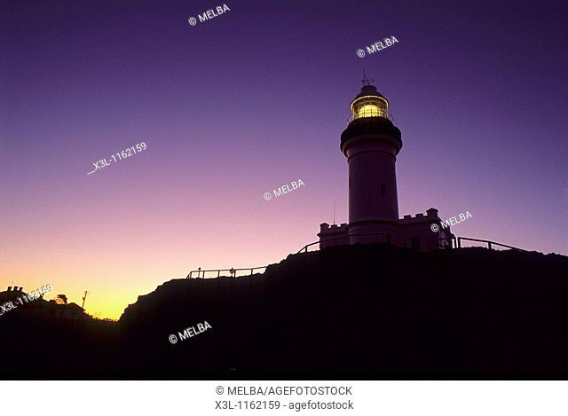 Lighthouse in Cape Town Byron Bay New South Wales Australia