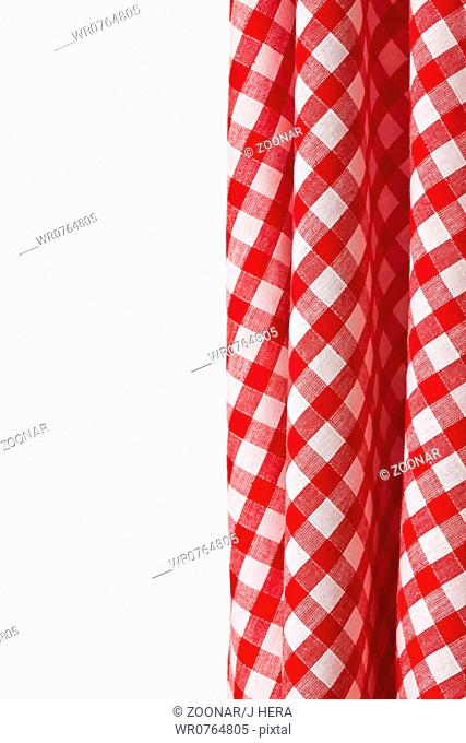 white and red checkered background