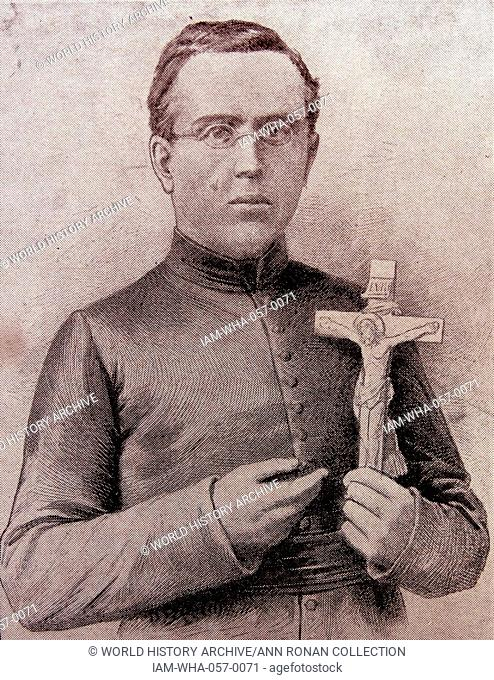 Father Damien of Molokai, Belgium (1840-1889) who died saving lepers