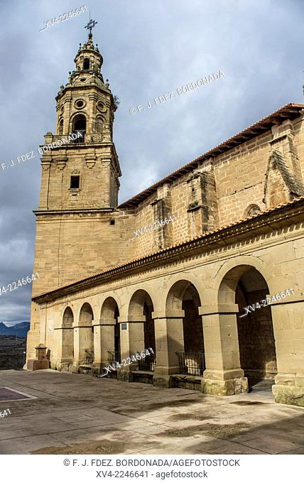 Labraza small village church detail. Rioja Alavesa, Alava, Basque Country, Spain