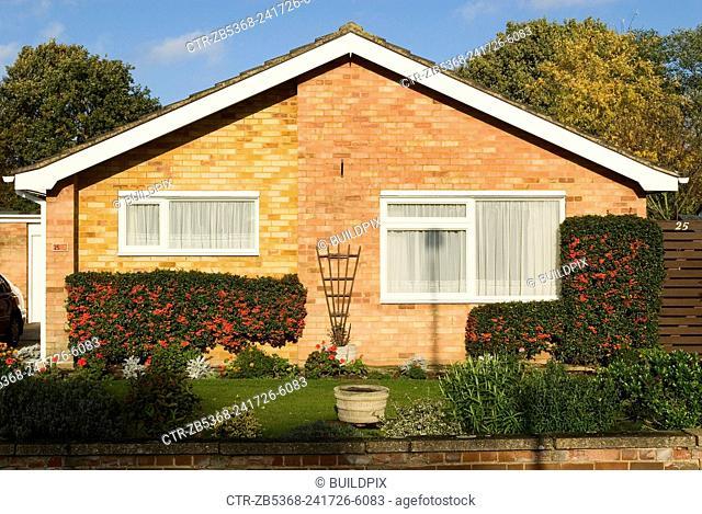 1970s bungalow, Ipswich, Suffolk, UK
