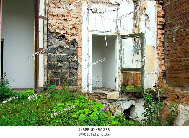 Entrance to a ruin in Eisenach