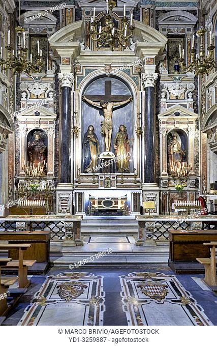 Gesù Nuovo (New Jesus) is the name of a baroque church in Naples, Campania, Italy. It is located just outside the western boundary of the historic center of the...