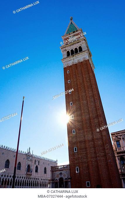 Venice, Campanile, St Mark's Square