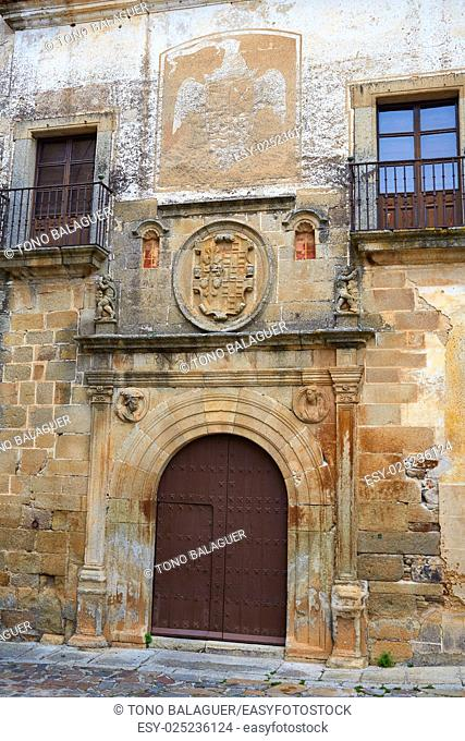 Hernando Ovando house in Caceres Spain at Extremadura
