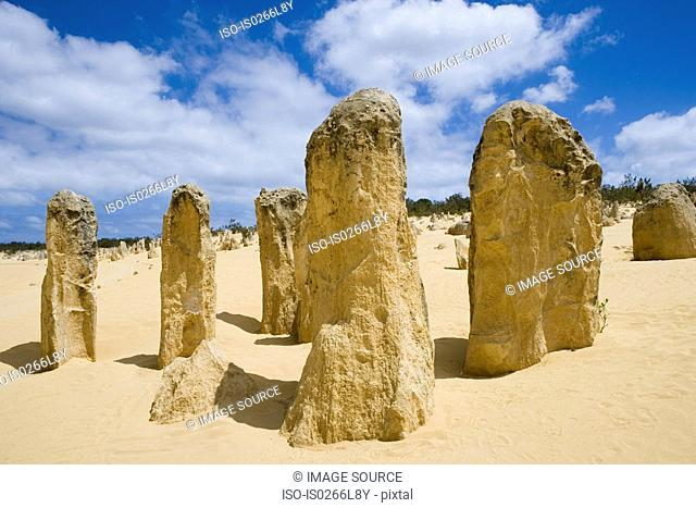 The pinnacles nambung national park perth