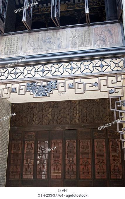 Lou Kau Mansion, typical xiguan chinese residential building, Macau