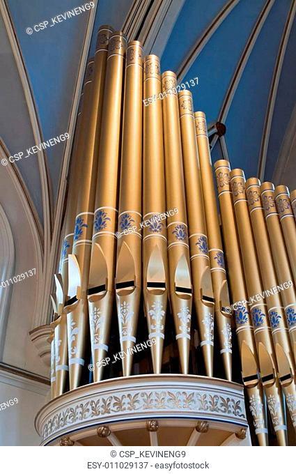 Cathedral organ pipes