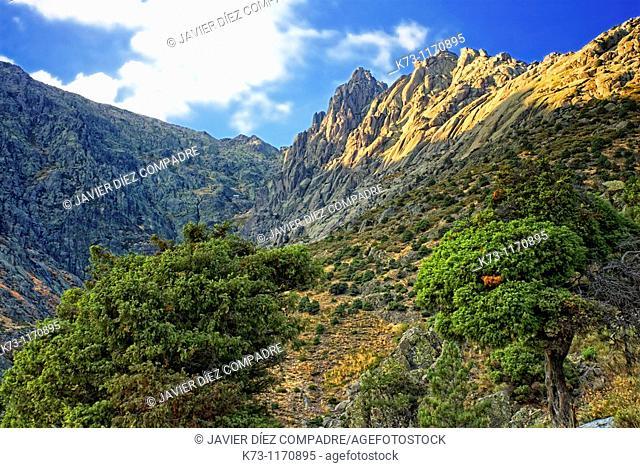 Los Galayos. Sierra de Gredos Regional Park. Avila province. Castilla y Leon. Spain