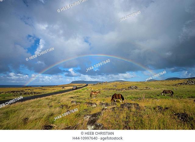 South America, Chile, Easter Island, Isla de Pasqua, south pacific, UNESCO, World Heritage