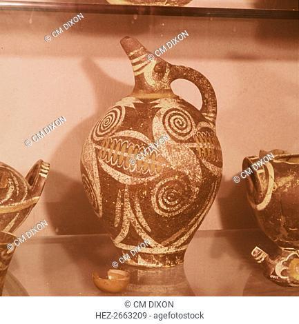 Minoan Kamares Style jug, c2000 BC Artist: Unknown