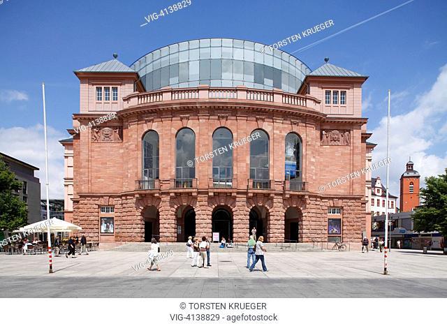 Mainz : Das Grosse Haus des Staatstheaters