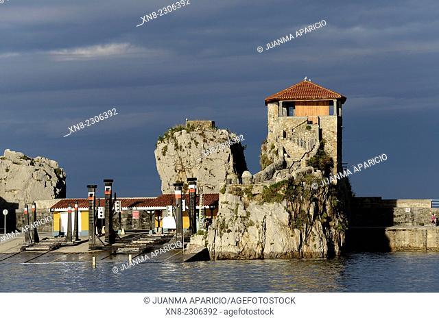 Hermitage of Santa Ana, Castro Urdiales, Cantabria, Spain, Europe