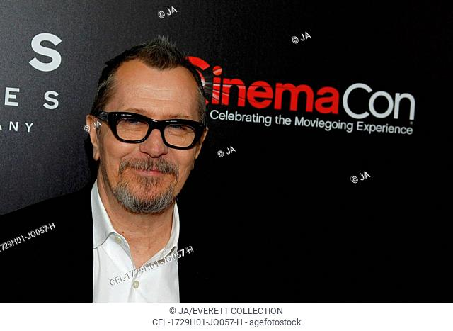 Gary Oldman at arrivals for Focus Features Celebrates 15 Years And A Bright Future at CinemaCon 2017, Octavius Ballroom at Caesars Palace, New York, NY March 29