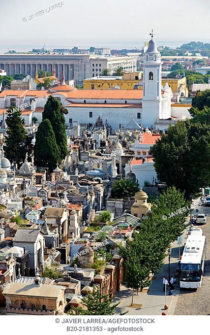 Basilica Nuestra Se–ora del Pilar. Cementerio de La Recoleta. Buenos Aires. Argentina