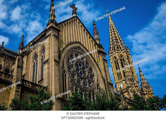 BUEN PASTOR CATHEDRAL, SAN SEBASTIAN, DONOSTIA, BASQUE COUNTRY, SPAIN