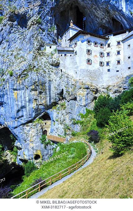 Predjama Castle. Predjama. Inner Carniola region. Slovenia, Europe