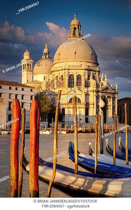 Sunrise over Santa Maria della Salute, Venice, Italy
