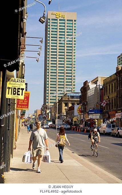 Yonge and Bloor area, Toronto, Ontario
