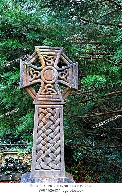 Grave in a cemetary, England, UK